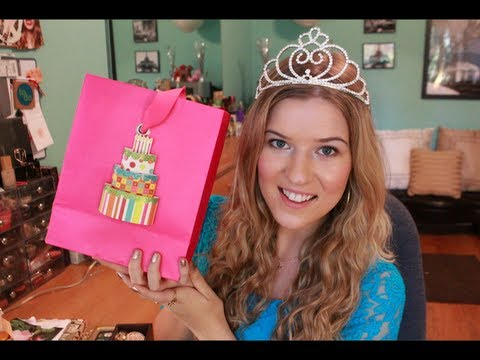 Birthday Haul: Opening YOUR Letters & Gifts from my Meetup!