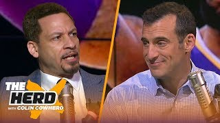 Chris Broussard refutes Doug Gottlieb saying LeBron isn't a current Top 10 player | NBA | THE HERD