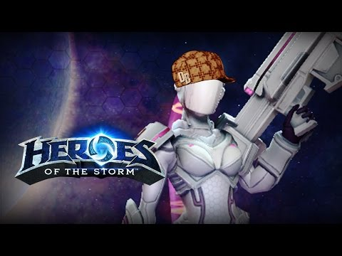 ♥ Heroes of the Storm (Gameplay) - Nova, Typical QM Scumbag (HoTs Quick Match)