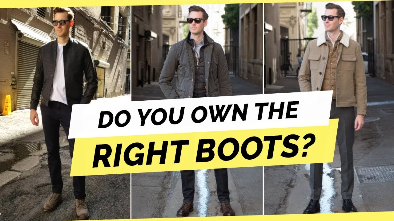 e99cc33e091 3 Boot Styles Every Man Should Own For Fall/Winter 2018