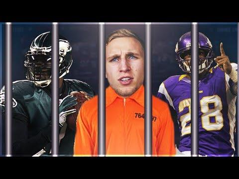 NFL'S ALL TIME CRIME TEAM! CRIMINALS AT EVERY POSITION! Madden 17 Squad Builder