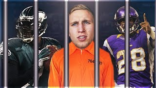 NFL'S ALL TIME CRIME TEAM! CRIMINALS AT EVERY POSITION! Madden 17 Squad Builder