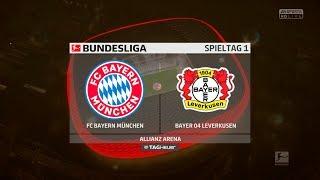 FIFA 18 Karrieremodus Bayern München - Erster Spieltag gegen Bayer Leverkusen! PS4 Gameplay Deutsch
