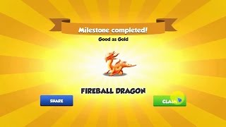 Did you get Fire Ball Dragon ? - Dragon Mania Legends The Fireball ...