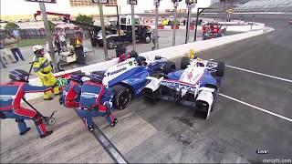 Pit Crash | IndyCar - Texas 2017