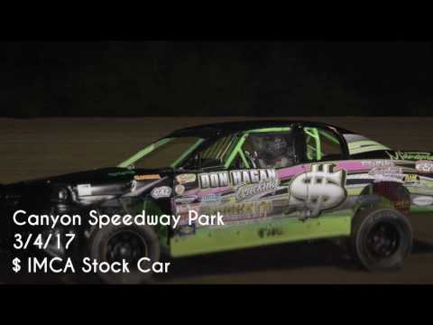 IMCA Stock Car Main Event Canyon Speedway Park 3/4/17