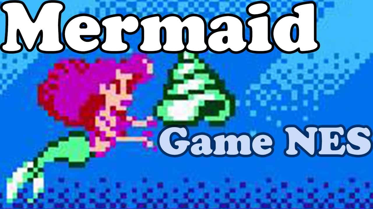 The Little Mermaid – Nes Games – Điện tử 4 nút