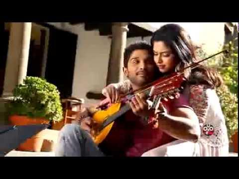 Allu Arjun song making video Iddarammayilatho