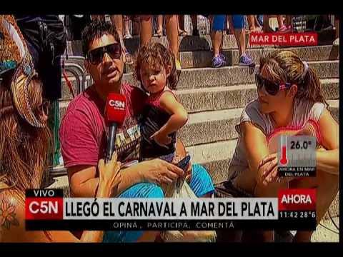 C5N - Verano 2017: Carnaval en Mar del Plata