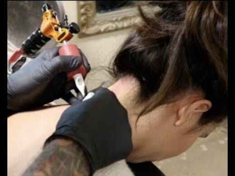 VLOG: Getting my neck tattoo