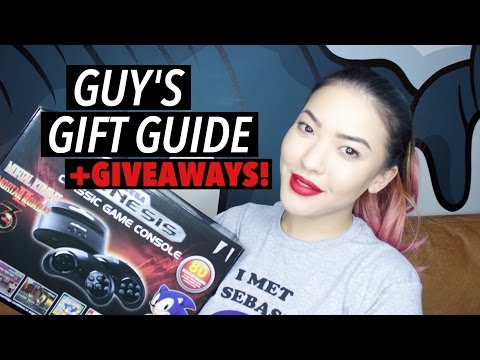 Guy's Gift Guide + GIVEAWAYS | soothingsista