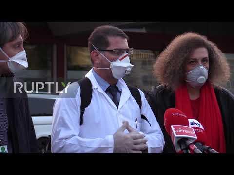 Italy: Cuban doctors