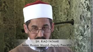 The Friday Sermon on Deen TV with Sh. Riad Fataar