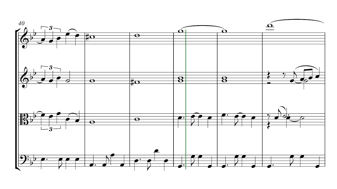 Piazzolla Oblivion | String Quartet Sheet Music