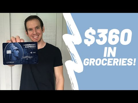 AMEX Blue Cash Preferred Card Review | MEGA CASH BACK CATEGORIES FROM AMERICAN EXPRESS!