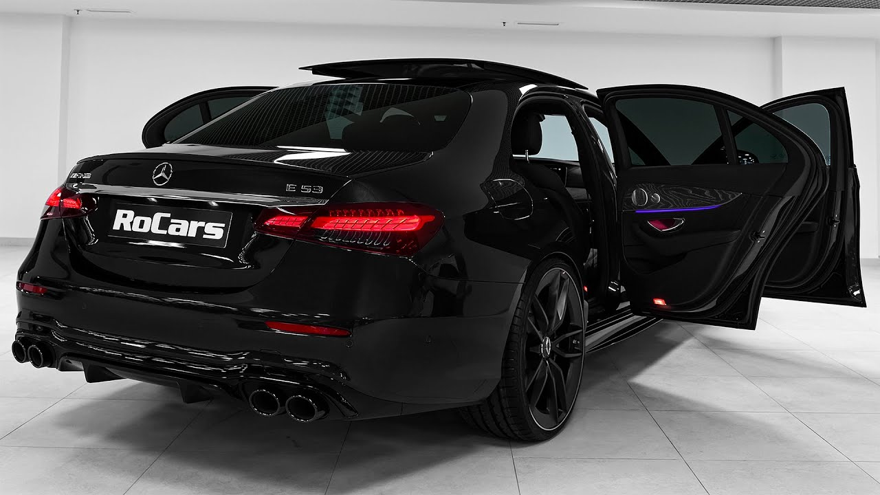 Download 2021 Mercedes-AMG E 53 - Sound, Interior and Exterior in detail