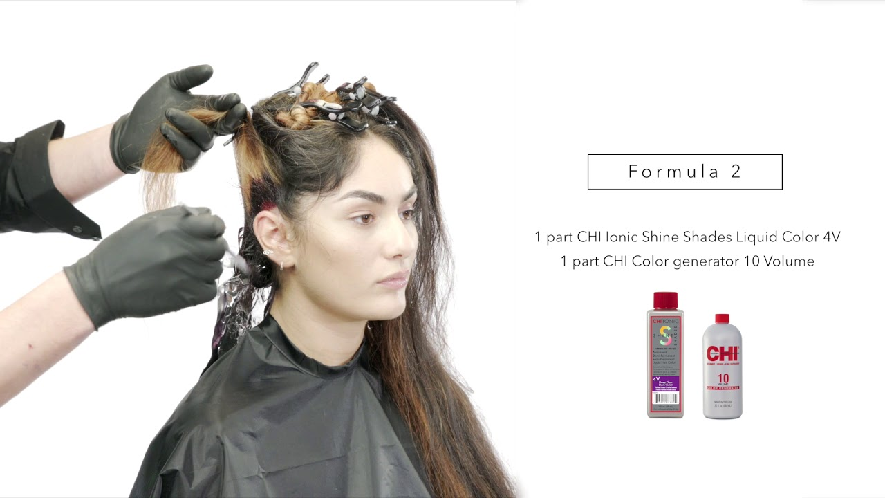 How To Plumicious Purple By Farouk Systems Color Youtube