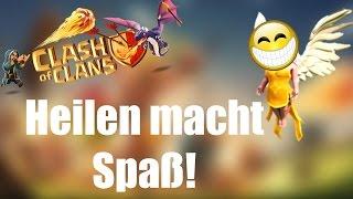 HEILEN MACHT SPAß: 3 Stars mit Heilern! ✭ Clash of Clans [deutsch / german]