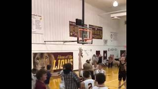 High school basketball player gives player with Down syndrome a chance to make final shot | ABC News