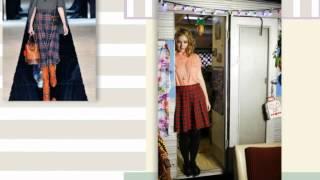 видео Клетчатые юбки: с чем носить мини, миди, длинные (с фото)
