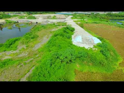 高雄路竹蓮溪埤。這麼美的地方,卻被土資場假再利用真掩埋,搞成這樣。Taiwan 2018/7 22.886607, 120.268269