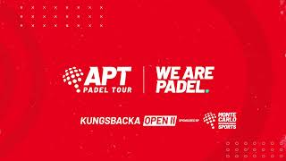 APT - Kungsbacka Open 2 - Round of 16 Afternoon