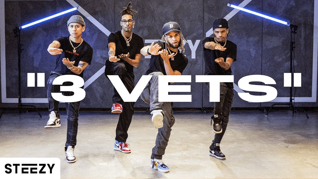 """3 VETS"" - The Future Kingz (Official Dance Video)"
