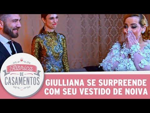 Noiva Se Surpreende Com Vestido| Fábrica De Casamentos (03/06/17)