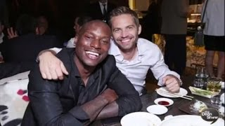 Paul Walker Fast & Furious along with Tyrese Gibson & UFC Champ Georges St-Pierre
