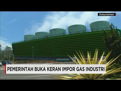 Pemerintah Buka Keran Impor Gas Industri