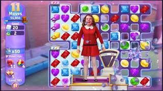 Wonka's World of Candy Level 383 - NO BOOSTERS + FULL STORY ???? | SKILLGAMING ✔️