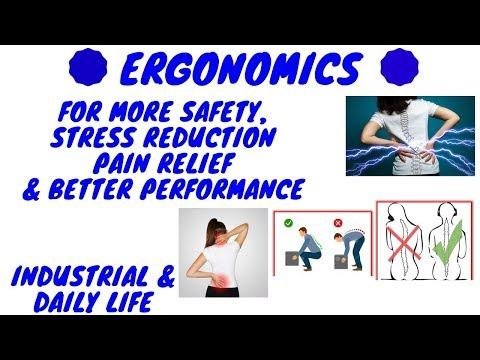 ERGONOMICS WORKPLACE IN HINDI | Ergonomics In Industry (HINDI) | ERGONOMICS AND DESIGN
