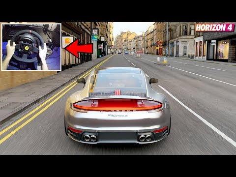 Forza Horizon 4 - Porsche 911 (992) Carrera S 2019 | (w/ Steering Wheel) Gameplay thumbnail