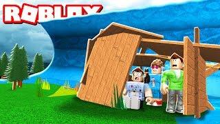 Roblox Adventures - BASE VS. TSUNAMI CHALLENGE IN ROBLOX! (Tsunami Base Challenge)