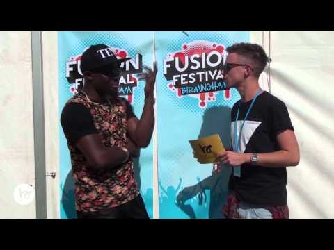 Fuse ODG interview with Buddybounce TV at Fusion Festival - answers some cheeky questions