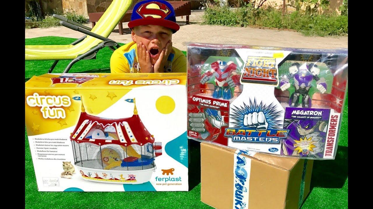 ТРАНСФОРМЕРЫ Автоботы Оптимус и Бамблби Посылка с Игрушками для мальчиков Transformers for kids Toys