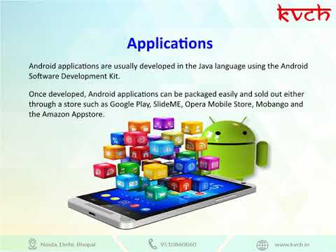Best Android application Course | Android Training - KVCH @ Noida
