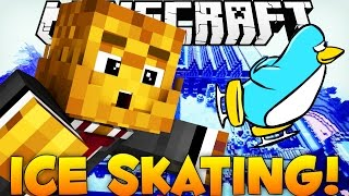 Ice Skating in Minecraft