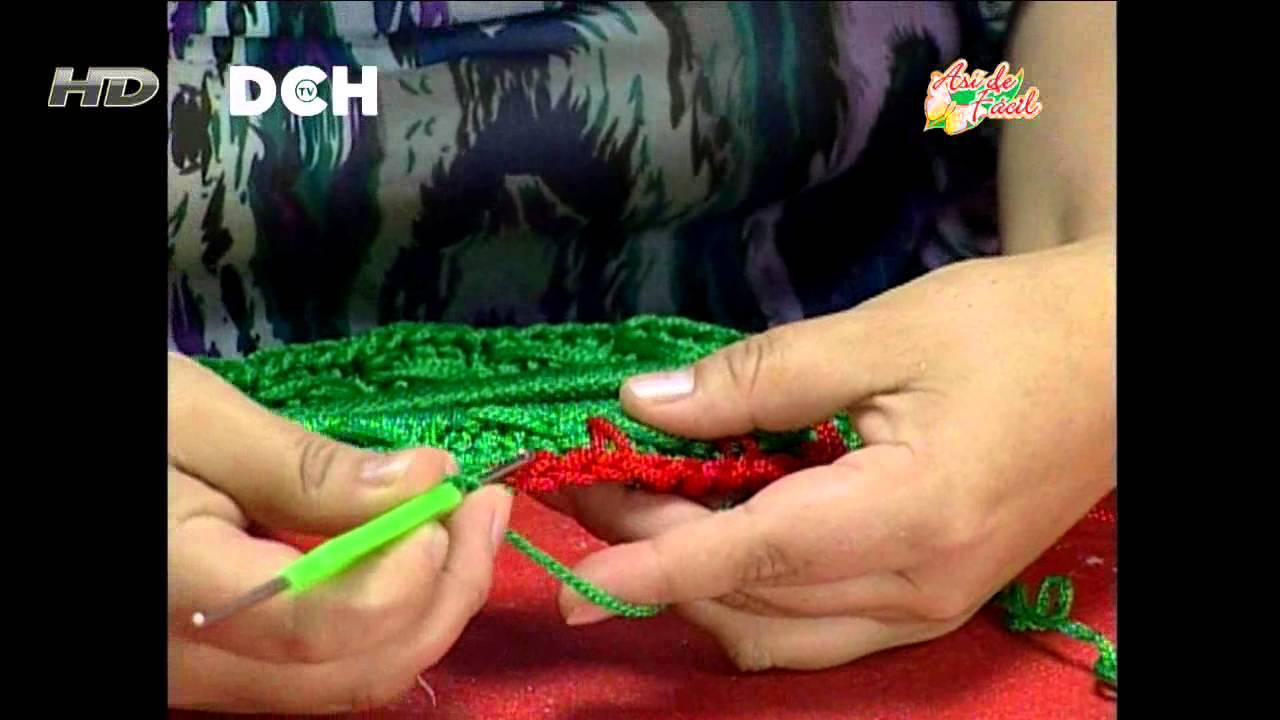 Corona para Navidad de Crochet | Coronas navideñas, Coronas de ... | 720x1280