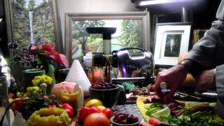 Pomegranate Recipe For Depression! Tarragon, Mint, Cranberry, Grapes, Lime, Ginger Recipe!!