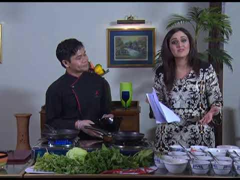 Dine With World (Beaf Salad & Coconut Milk Soup)