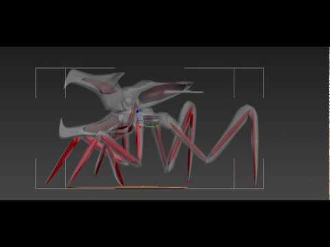 Making the arachnid warrior move