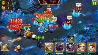 Magic Rush Heroes Crystal Dungeon level 118