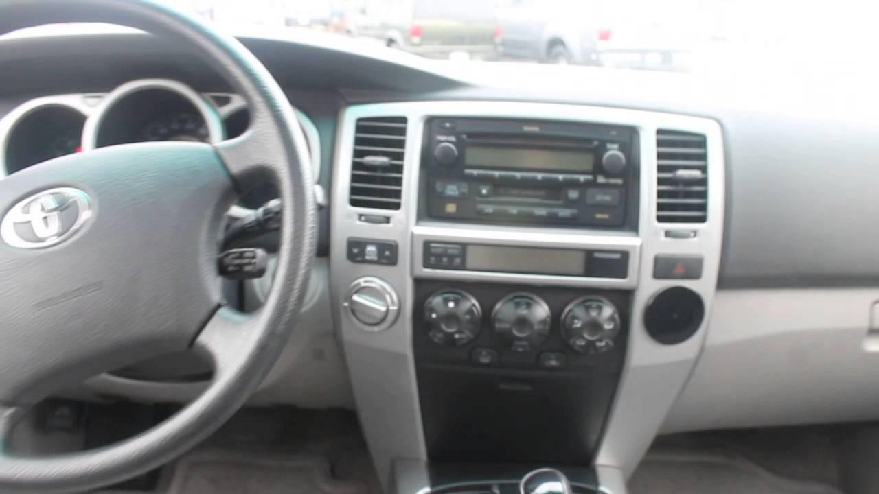 2003 Toyota 4runner Blue Stock 140303a Interior Youtube