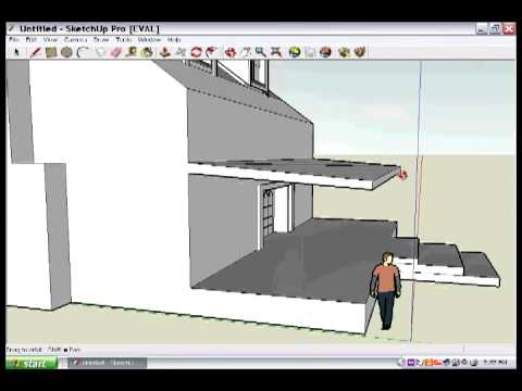porch roof addition sketchup animation 1216