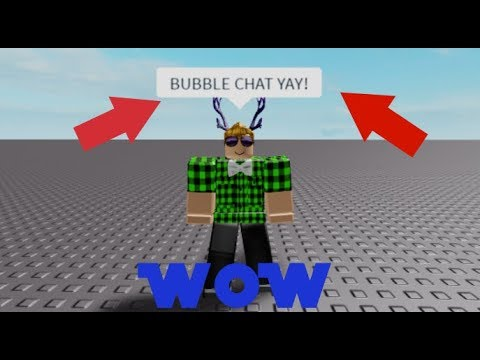 How To Add Bubble Chat In Roblox Roblox Studio Youtube