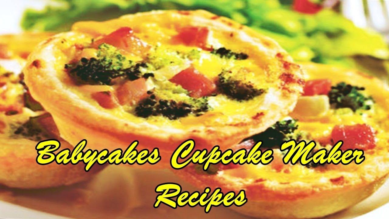 babycakes brownie maker recipes | Deporecipe.co