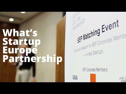 What's Startup Europe Partnership (SEP)