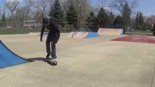 I learned Double Kickflips at Homewood Skatepark
