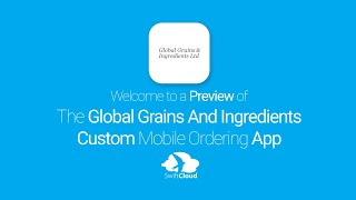 Global Grains And Ingredients - Mobile App Preview - GLO439W